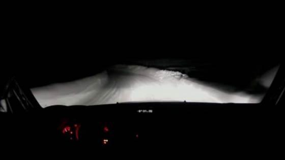 Rallying in the dark