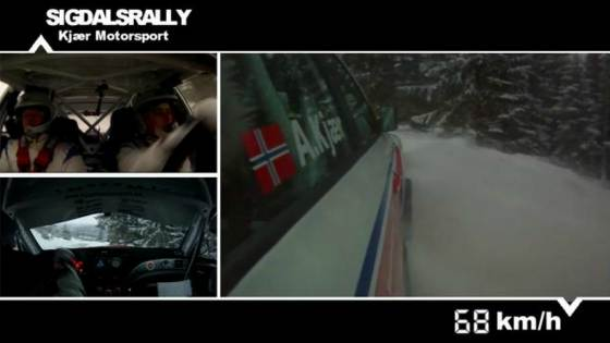 Sigdalsrally SS1