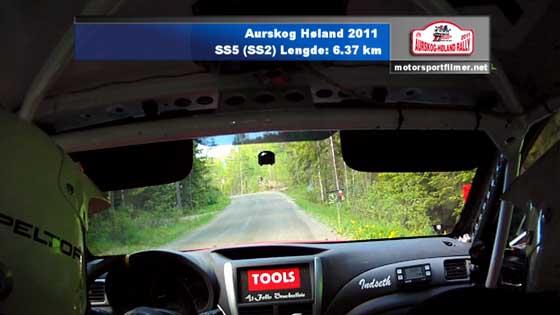 Aurskog Høland Rally SS5 (SS2)