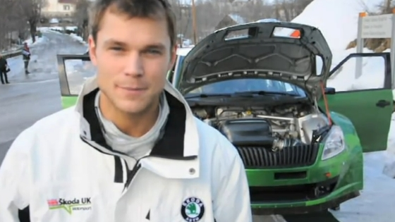 Rally Monte Carlo test 2011