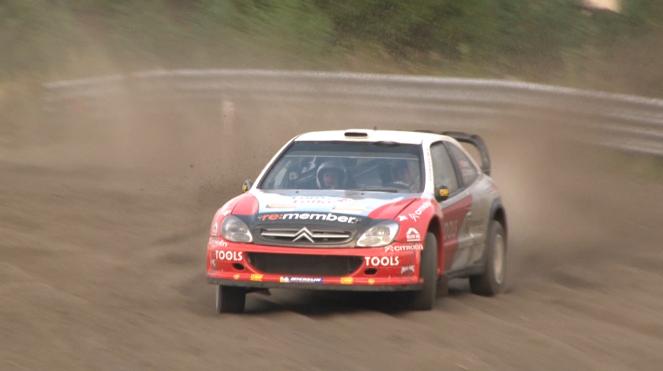 Petter Solberg Citroen Xsara WRC Finnskogbanen 2011