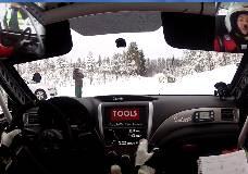 Rally Elverum SS1 2012