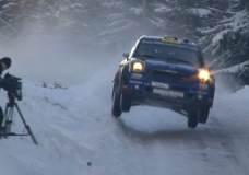 WRC Swedish Rally Day 3 2012