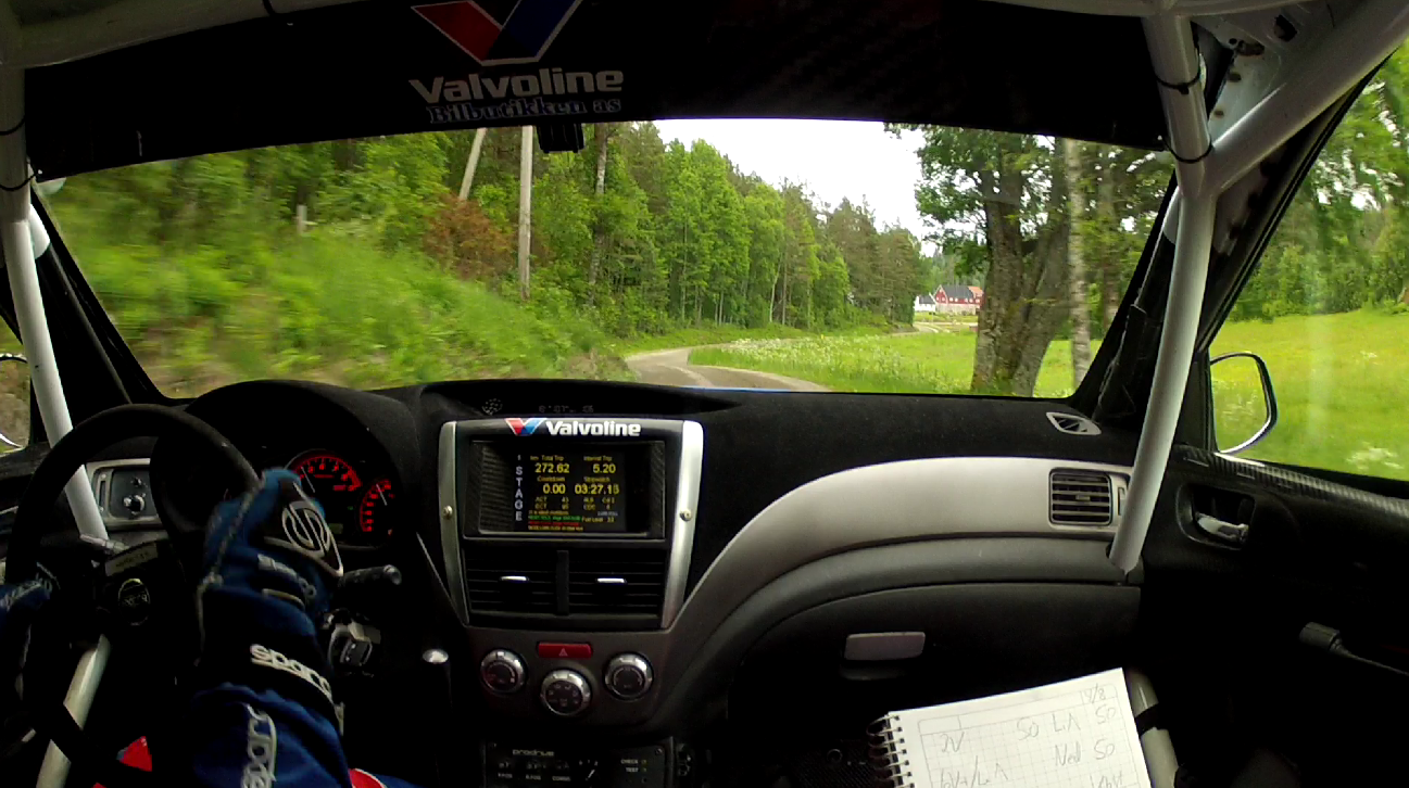 Inboard: Anders Grøndal – Subaru Impreza STI Sørlandssprinten SS3 2013