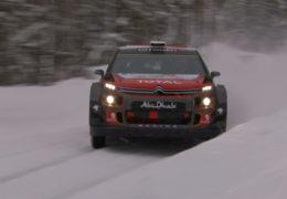 Østberg / Eriksen Rally Sweden Testing 2018